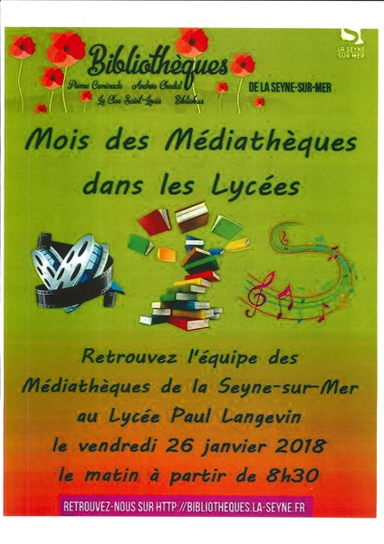 Affiche Mediatheques 800x600
